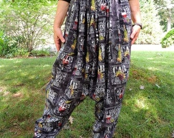 Bohemian Harem Pants, Hammer Pants, Sufi Pants