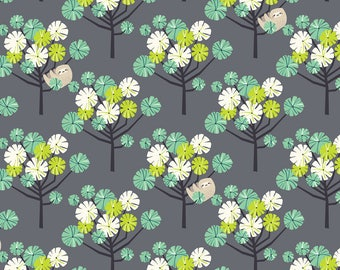Tree Dwellers Green - Rainforest Slumber - Katy Tanis - Blend Fabric 100% Quilters Cotton 124.105.05.2