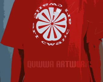 Short Sleeve Quwwa CWATIC Logo Tee