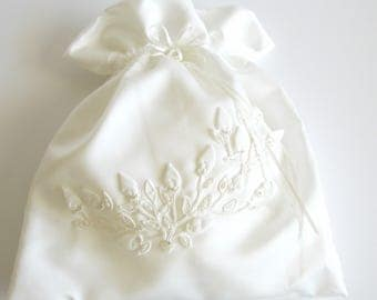 Wedding Keepsakes Bag, Brides Shoe Bag, Dollar a Dance Bag, Wedding Card Bag