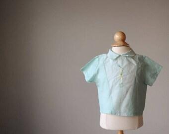 ANNIVERSARY SALE 1950s Drum Major Shirt, size 6 months