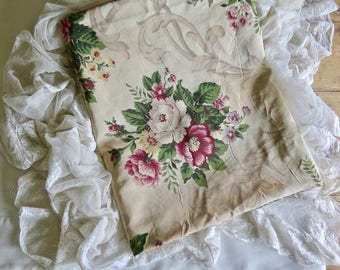 Vintage Lovely Shabby Chic French Fabric