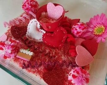 Valentine Sensory Play Bin