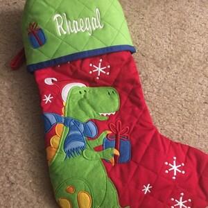 Personalized christmas stocking STEPHEN JOSEPH christmas