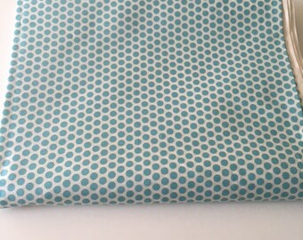 Kei Honeycomb in Aqua and white by Yuwa of Japan