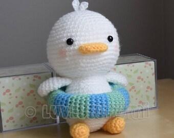 Ducky Amigurumi Pattern