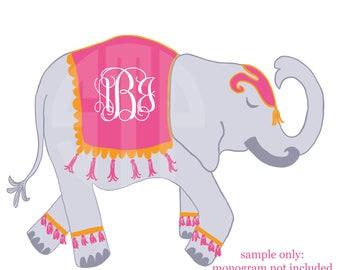 New! Elephant V.2 Clip Art (Instant Download)