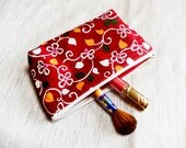 Make Up Bag Gift for Her/ Girlfriend Gift/ Gift for Wife,/Floral Pencil Case/ BFF Gift/ Birthday Gift/ Valentines Day Gift/ Best friend Gift