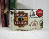 Diagon Alley Pouch, The Leaky Cauldron, Harry Potter Pouch, Diagon Alley Shops, Zipper Pouch