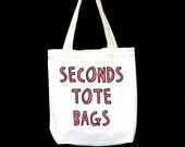 Seconds Tote Bag - Choose Your Design
