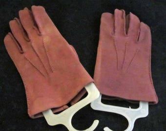 Wrist Gloves in Brown Vintage 50's