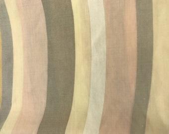 Vintage Fabric by the yard, Retro Fabric , Craft Fabric, Vintage Sheet Fabric, Vintage Cotton Fabric yard, Vintage Remnant, Sheet remnant