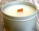 Moving Sale BAMBOO LOTUS Handmade Scented Soy Candle 5.5 oz Free Shipping
