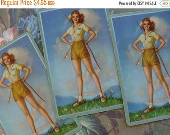 ONSALE Antique Rare Pinups Pin Up Trade Playing Cards lot