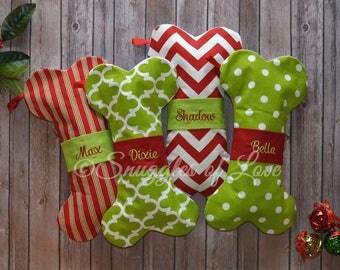 Pet Stockings, Personalized Pet Christmas Stockings, Personalized Pet Stockings, Dog Stockings, EMBROIDERED Pet Stocking