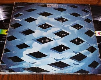 The Who Tommy Vintage Rock Opera Double Album