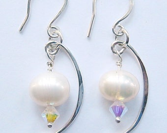 Pearl and crystal curves