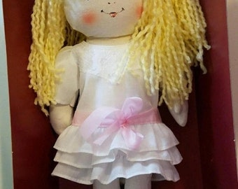 sale vintage rag doll