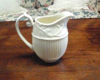 Vintage Thatcham Creamware 3.5 inch Creamer Pitcher