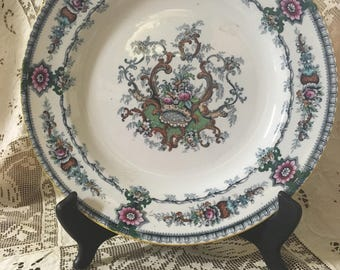 Cauldon England Floral Dinner Plate