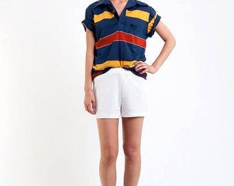 40% SUMMER SALE The Vintage 50/50 OP Striped Collared TShirt