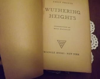 Wuthering Heights by Emily Bronte 1941