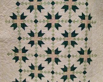 Batik Bradford Star Quilt
