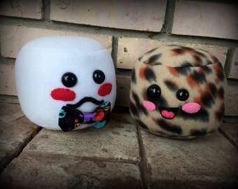 Scented Marshmallow Plush. Marsh-SMELL-ows. Kawaii fleece softie. Choose one