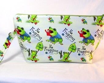 No Frogging! Beckett Bag - Premium Fabric