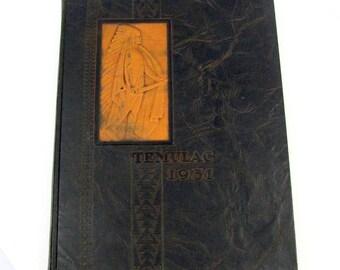 1931 TEMULAC CALUMET High School Year Book Chicago IL Scrapbook Virginia Ml Hill