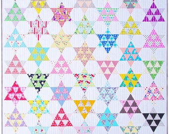 Frankie Quilt - A Modern Star Quilt