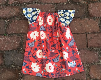 Peasant Dress + chicken dress