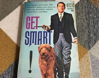 Vintage 1965 Get Smart William Johnston Book