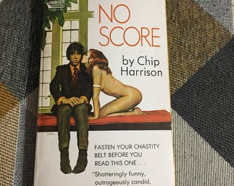 Vintage 1970 No Score Chip Harrison Novel Rare