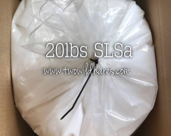 20lbs SLSA, Eco Certified Surfactant, Lathanol, Sodium Lauryl Sulfoacetate, Lal Coarse Powder, Bubbles!