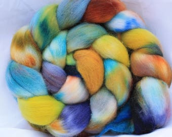 Hand painted polworth 4.1 oz 116 grams #111