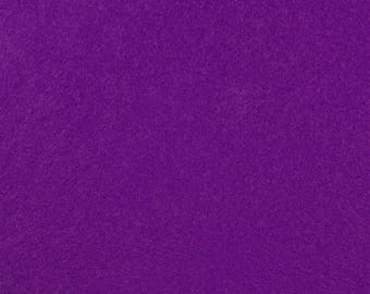 "Plum Acrylic Craft Felt by the Yard - 1/16"" Thick, Available Plain (72"" Wide) or with a Peel-and-Stick Adhesive Backing (36"" Wide)"