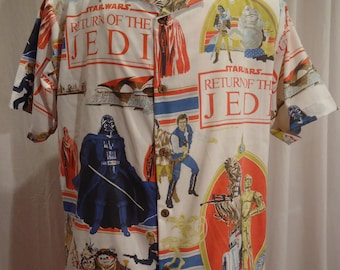 Star Wars Return of the Jedi Shirt Size Large