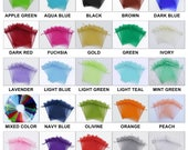 100 pcs Organza Bags Wedding Favor Bags Party Gift Bags Candy Bag Jewelry Pouch Drawstring Bag LOW Price FB666