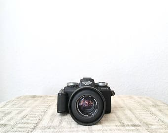 Vintage Minolta Mark II 110 Zoom SLR Camera
