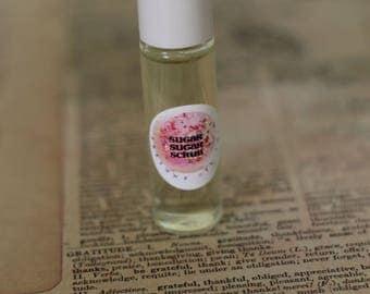 EASTER SPRING - PERFUME Oil Roll On -  7ml Glass Roll On Bottle, Cruelty Free Vegan  - Gift for her - Easter GIft- Perfume