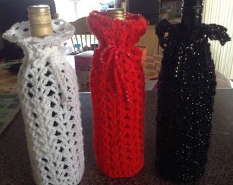Lacy Bottle Cover