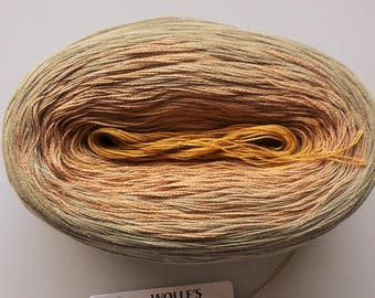 SAFFRON II - Color Changing Cotton yarn - 480 yards/100 gr - Fingering Weight