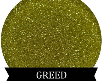 GREED Green Gold Cosmetic Glitter