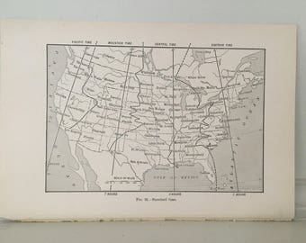 United States Time Map File Map Of The United States And - Us time zone map florida