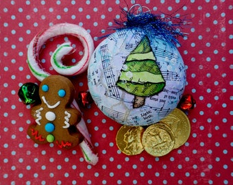 Inspire Someone Tree Ornament, Pick your Inspiration Word