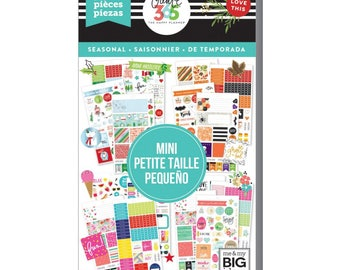 Seasonal 2 Mini Create 365 Happy Planner Sticker Value Pack Mini (2001/Pkg) Me and My Big Ideas (PPSV-39-3048)
