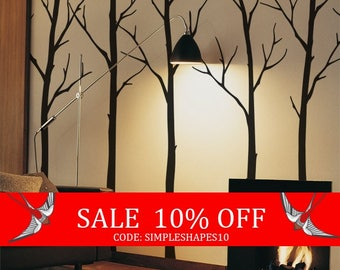 Summer Sale - Wall Decals Living room Tree Wall Decals Sticker Set Large tree wall decal