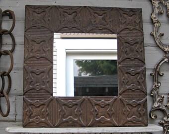 Industrial Wall Mirror industrial mirror   etsy