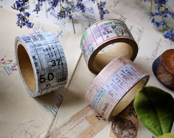 New-Papier Platz x SunnySunday Japanese Washi Masking Tapes for your journaling, packaging, scrapbooking